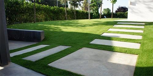 césped artificial para jardin comunitario