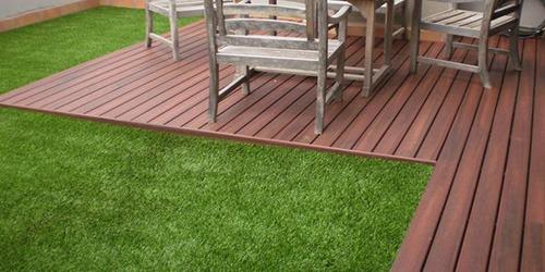 césped artificial para terrazas particulares