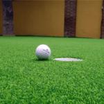 mini golf cesped artificial