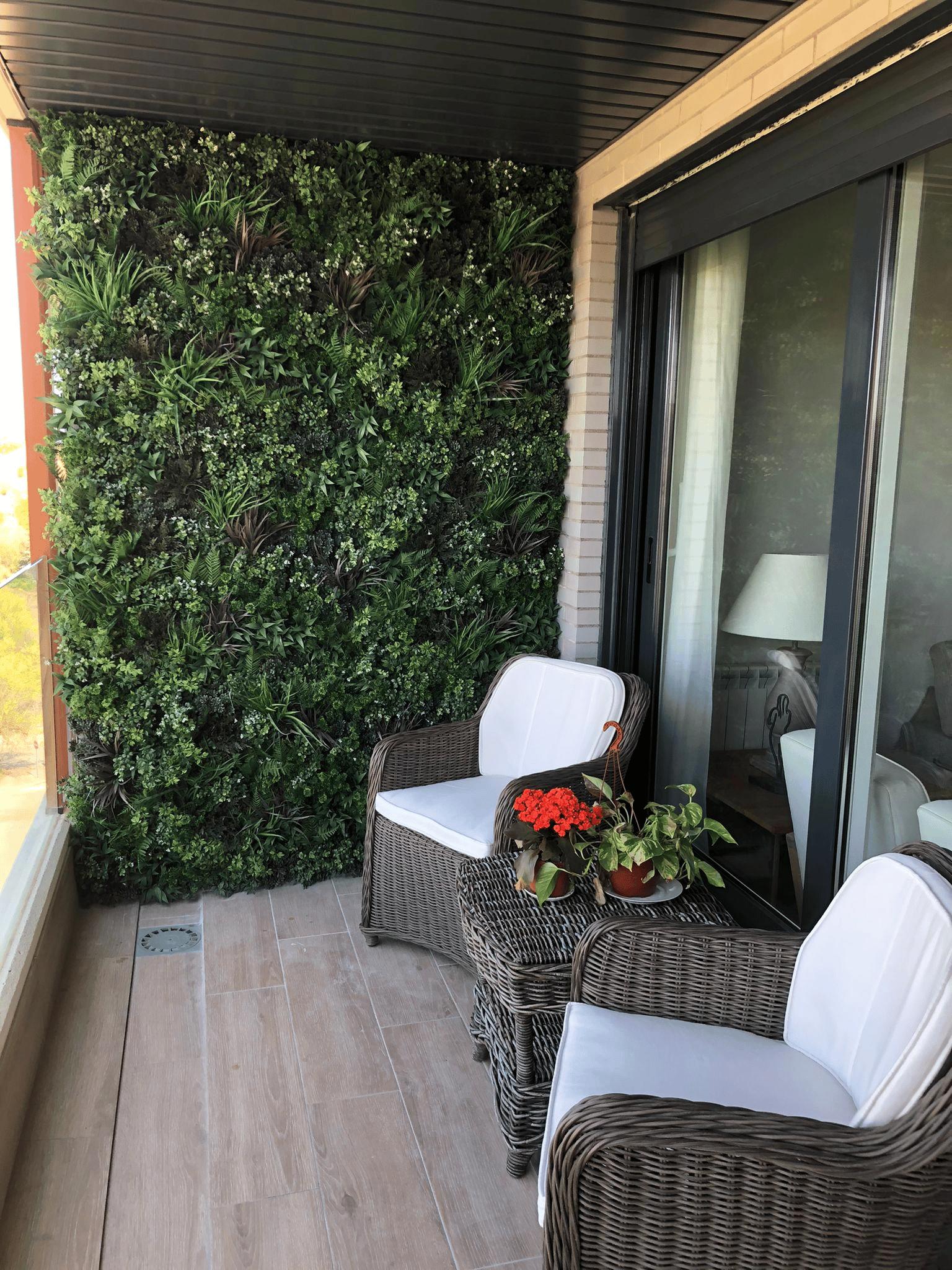 Instalar jardin vertical artificial
