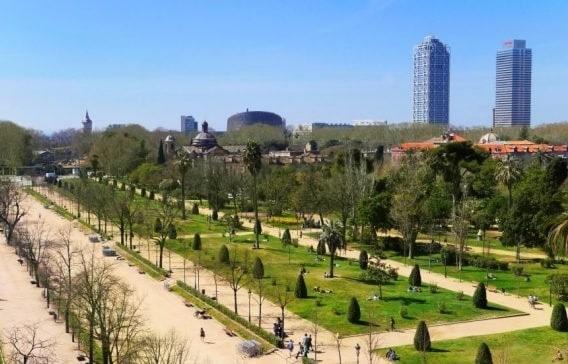 barcelona parque verde